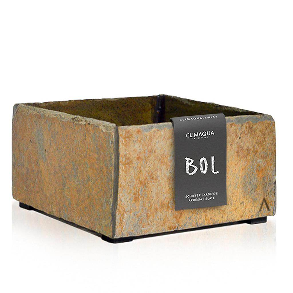 CLIMAQUA Planter Indoor BOL 19 rusty