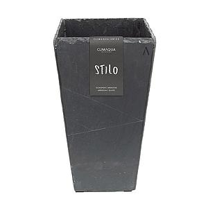 CLIMAQUA Planter Indoor STILO 21 anthracite