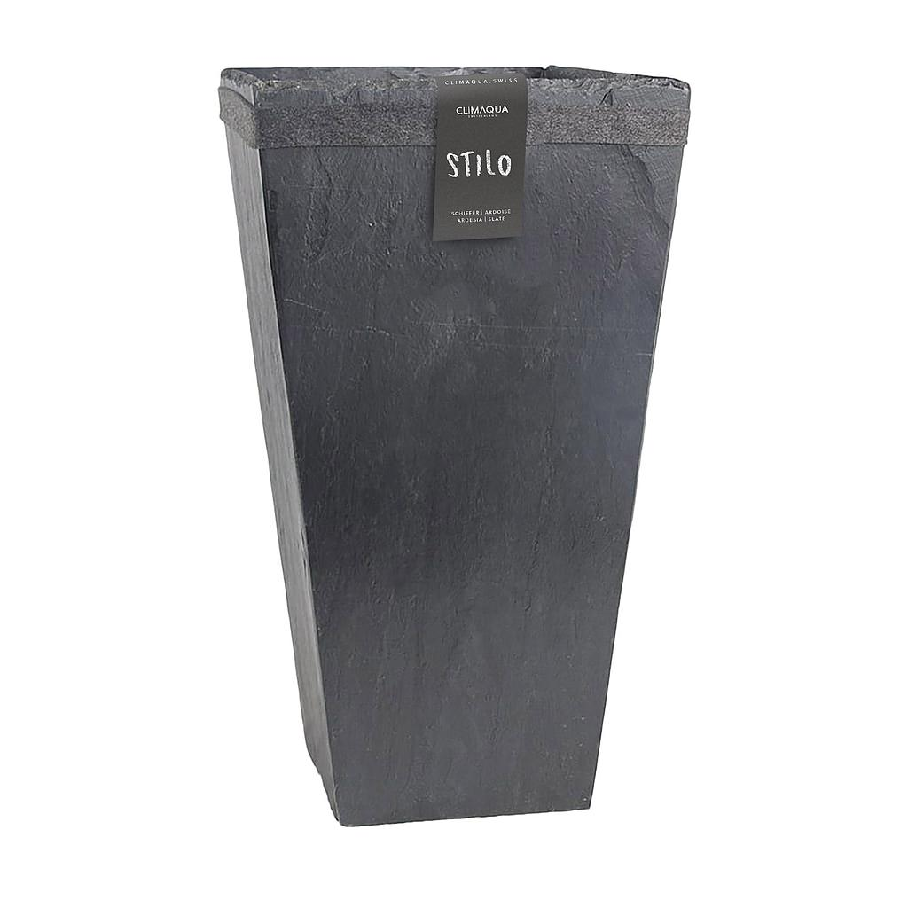 CLIMAQUA Planter Indoor STILO 31 anthracite