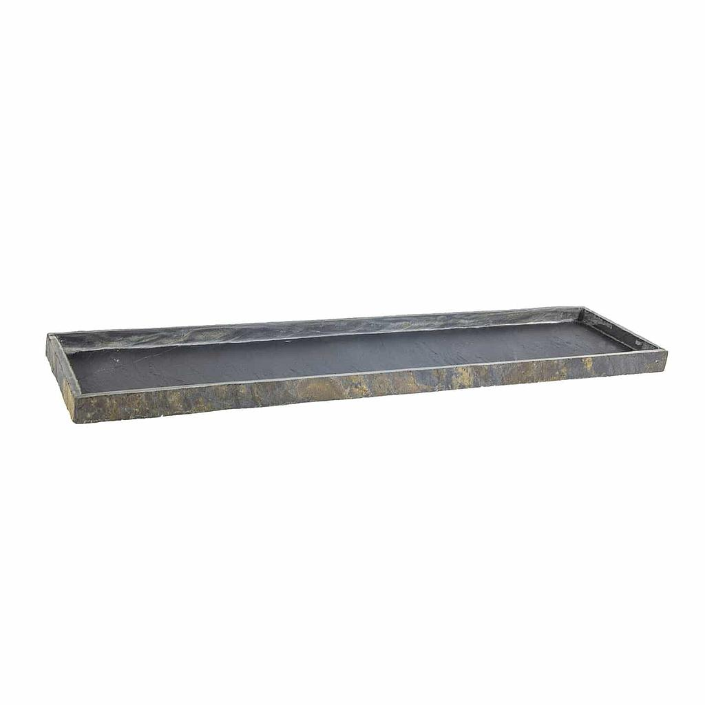 CLIMAQUA Untersetzer Outdoor TRAY 80 rusty