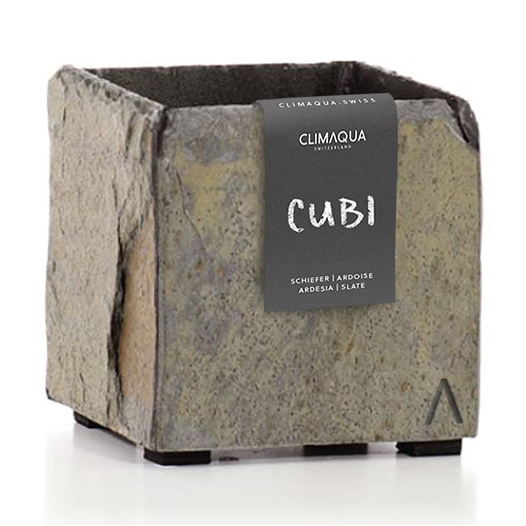 CLIMAQUA Planter Indoor CUBI 13 rusty