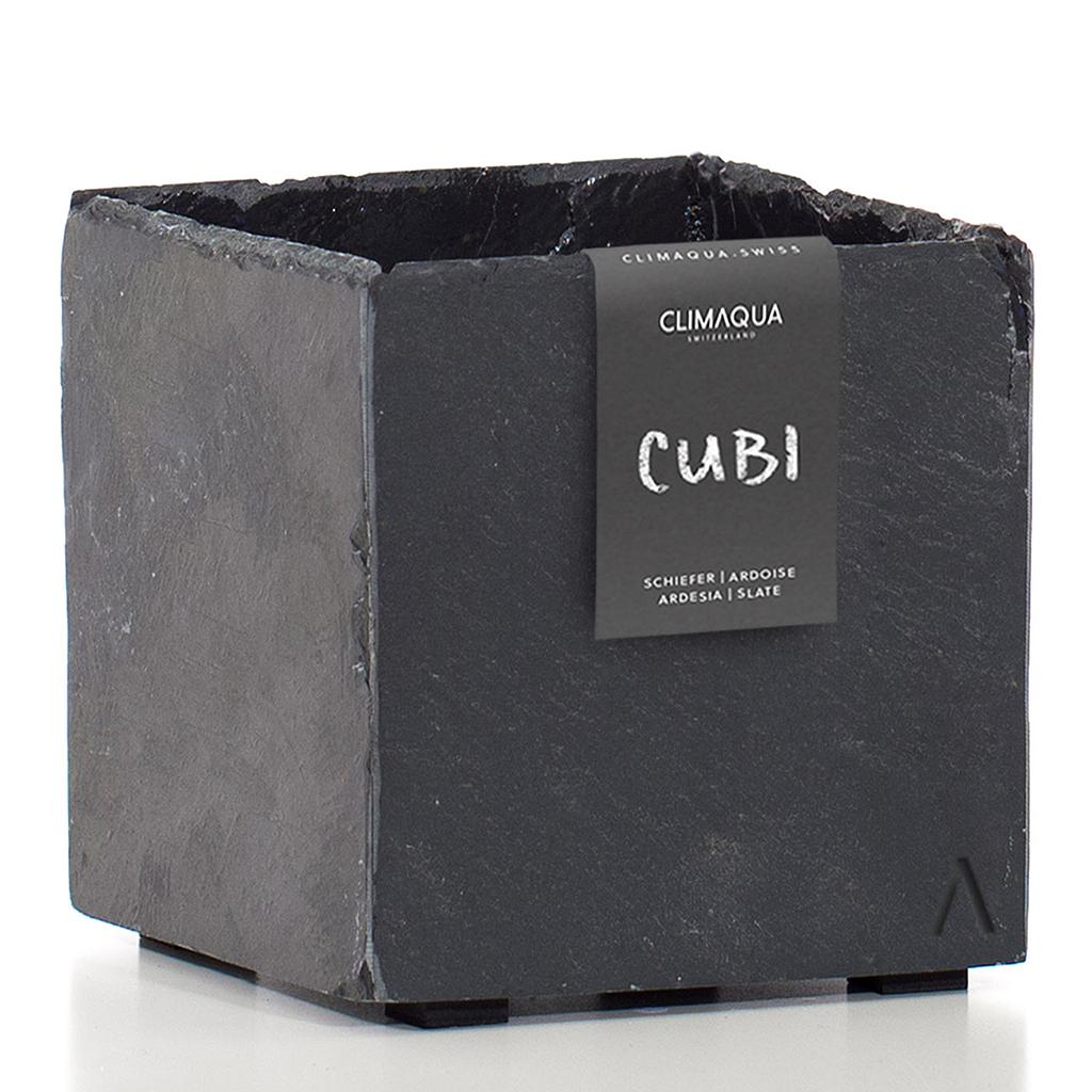 CLIMAQUA Planter Indoor CUBI 17 anthracite