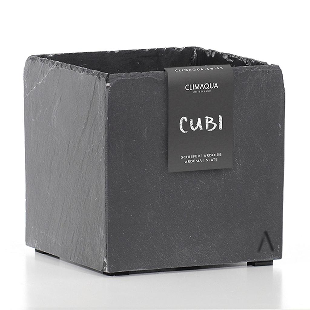 CLIMAQUA Planter Indoor CUBI 21 anthracite