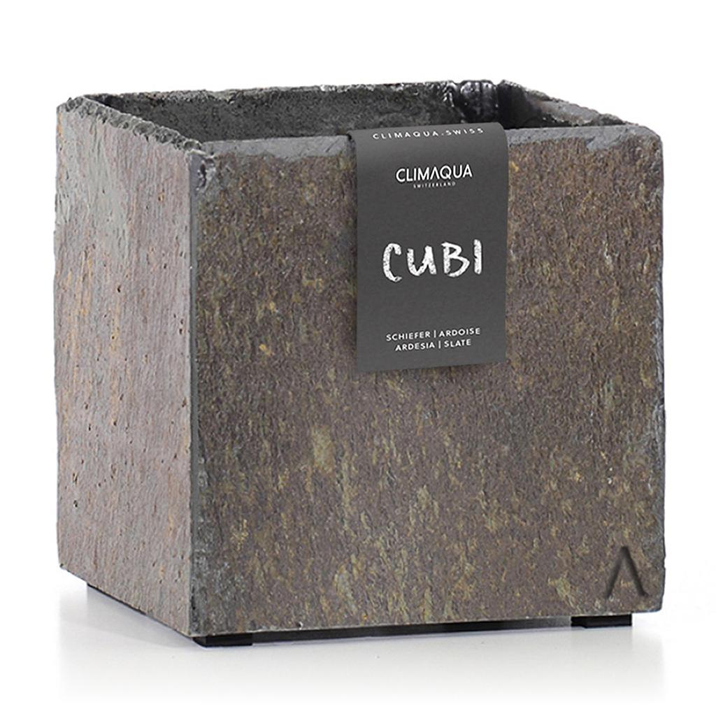 CLIMAQUA Planter Indoor CUBI 21 rusty