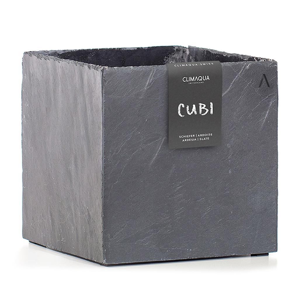 CLIMAQUA Planter Indoor CUBI 31 anthracite