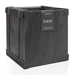 CLIMAQUA Planter Outdoor CUBI 40 anthracite