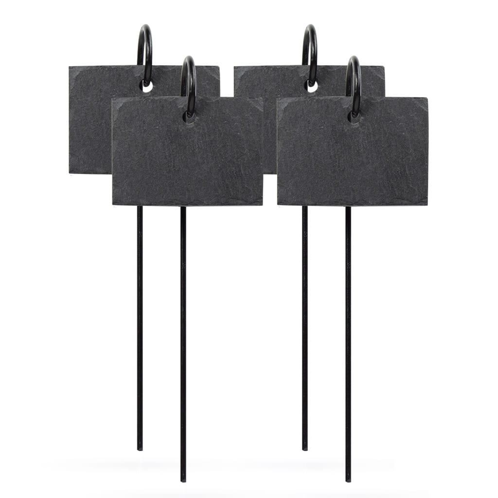 CLIMAQUA Boutique Schiefertafel HANG anthrazit 4er Set