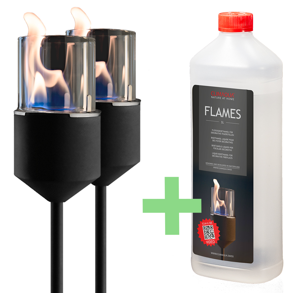 SET: 2x Flambo Nero / 1x FLAMO